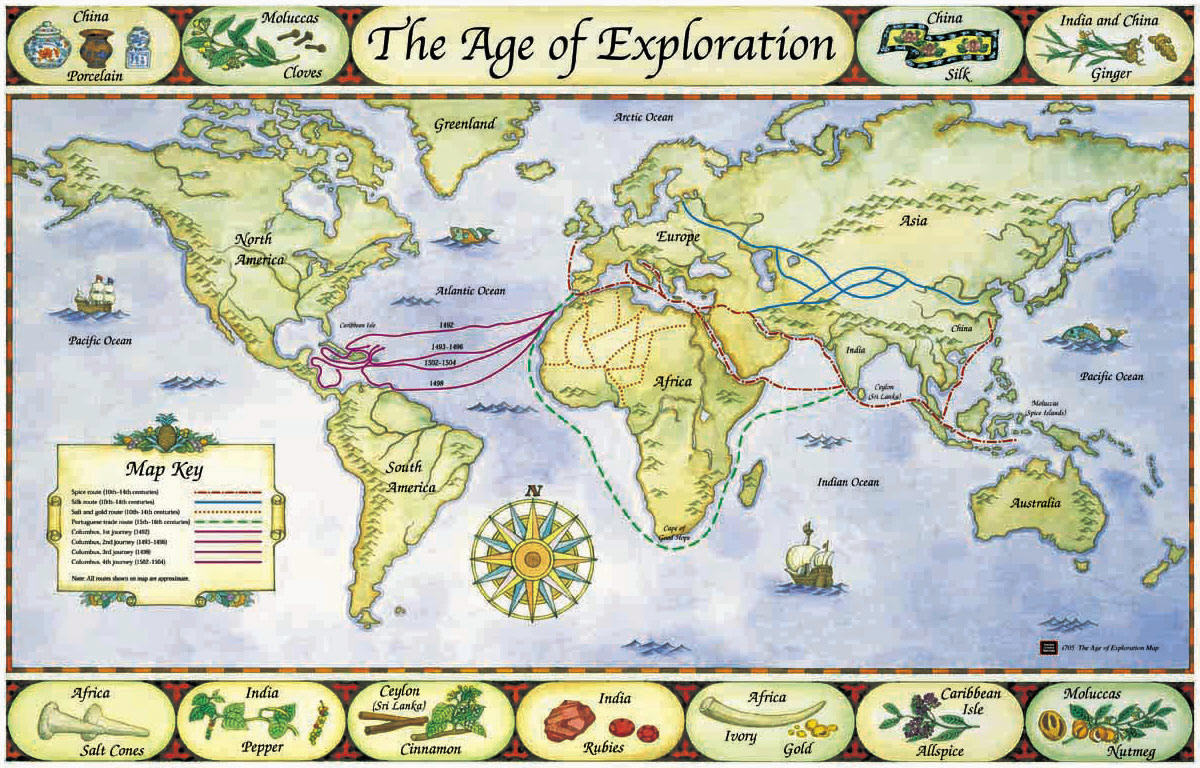 The Age Of Reconnaissance Discovery Exploration And: Mrs. Jenkins' 5th Grade